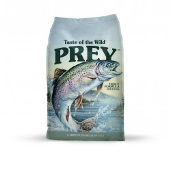 Prey canine trout 11.4kg taste of the wild